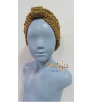 Diadema de lana niña