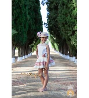 Conjunto falda y blusa Mia